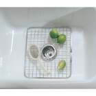 InterDesign Aria 12-3/4 In. x 11 In. Sink Rack Grid Image 2