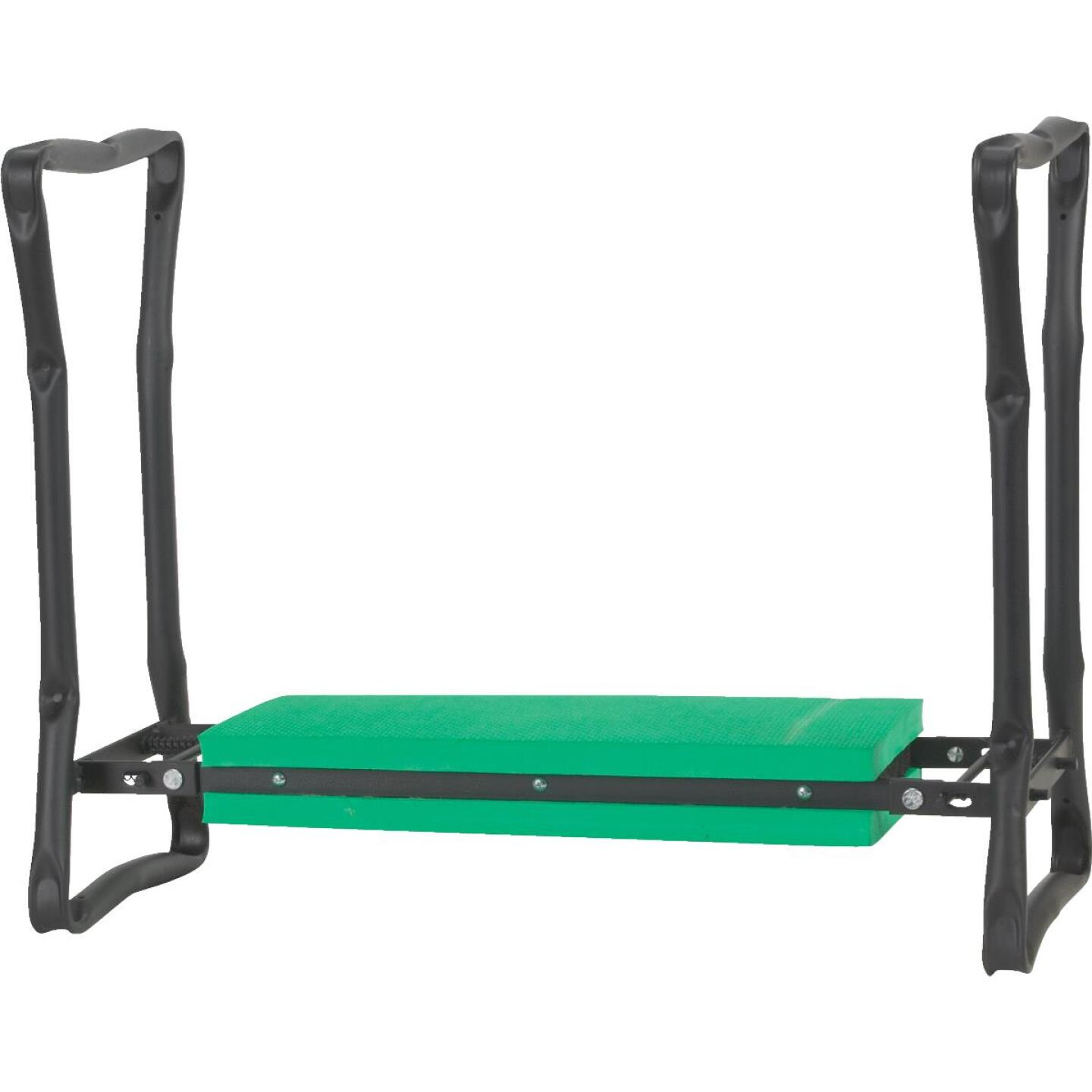 Best Garden Green Foam Pad w/Black Steel Frame Garden Kneeler Bench Image 2