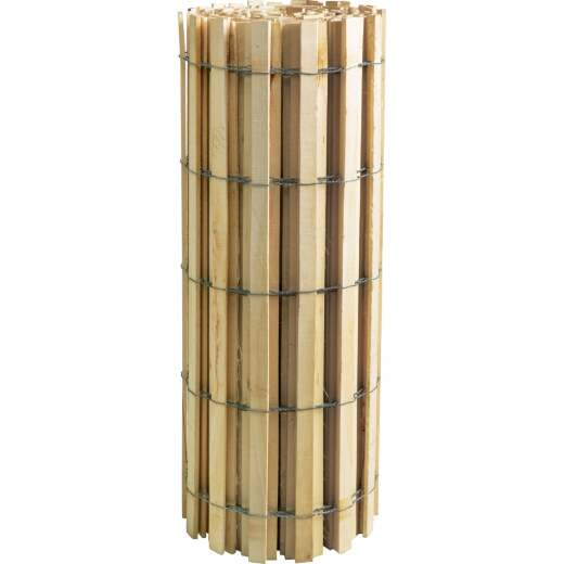 Sourcewood 4 Ft. H. x 50 Ft. L. Wood Snow Safety Fence, Natural