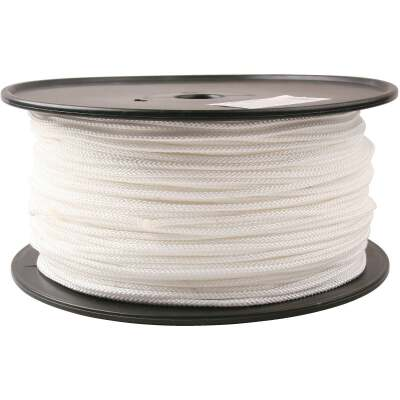 Do it 9/64 In. x 1000 Ft. White Braided Nylon Rope